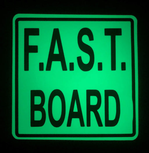 FAST Board AWOGS Decal