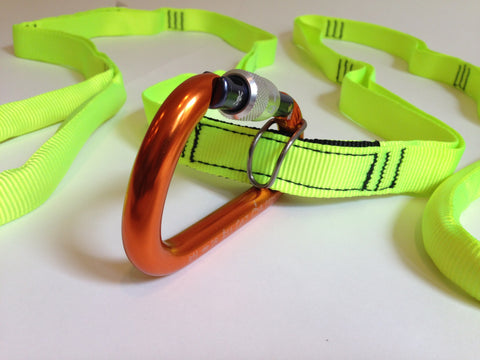Multi-Loop Rescue Strap (MLS) with Carabiner