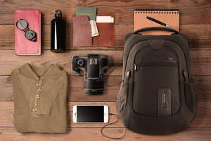 This One-of-a-Kind Travel Backpack Charges Your Mobile Devices On-the-Go