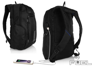 Trakk FUEL Anti-Theft Backpack with Charger for Your Wearable Devices