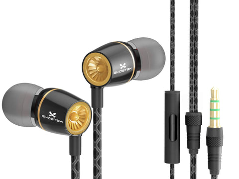 mobile earbuds ghostek turbine ear buds for mobile phones and devices