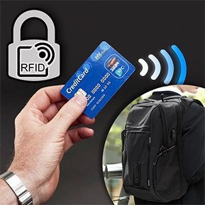 RFID Anti-Theft Charging Backpack Protection