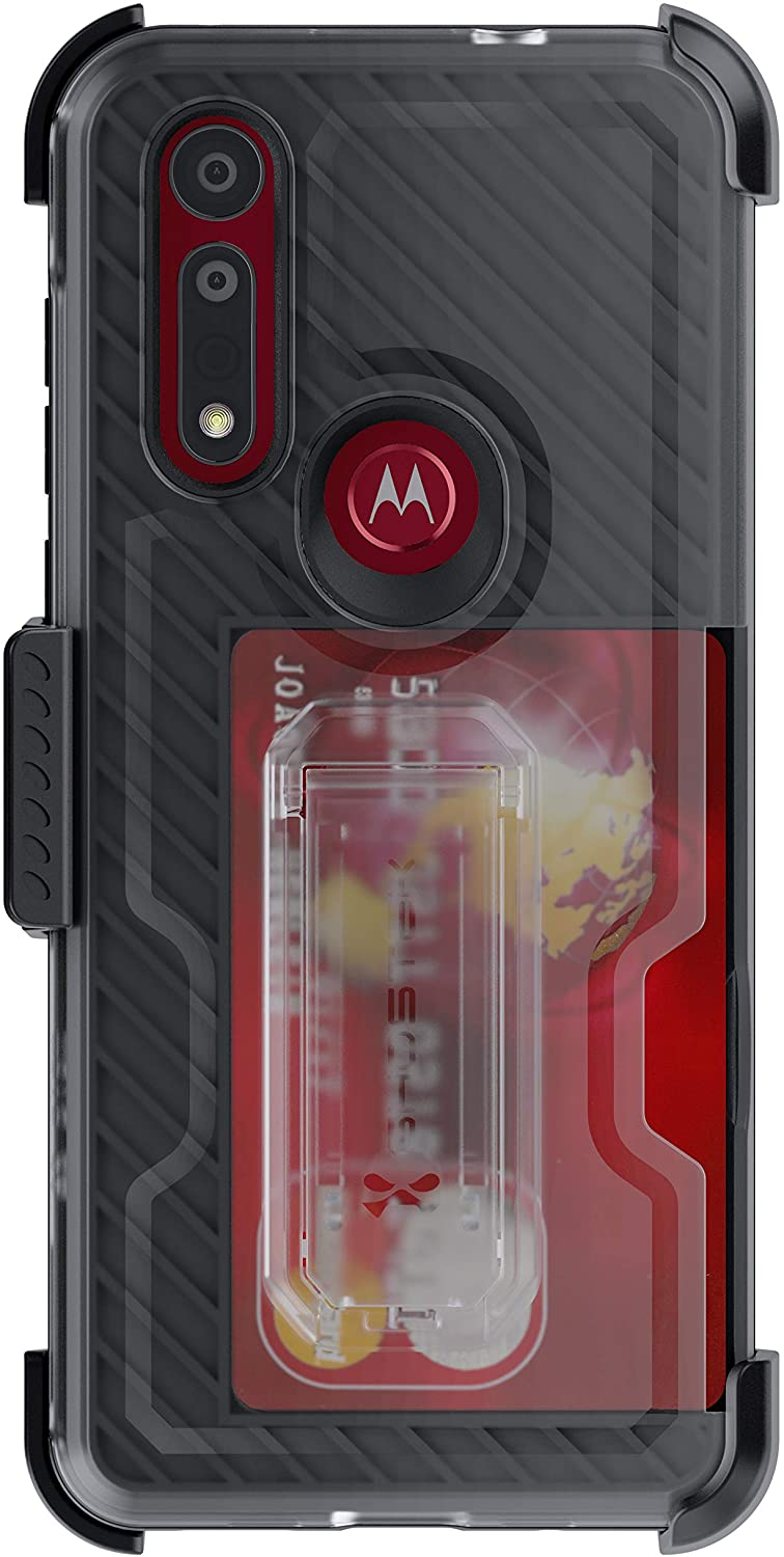 Moto G8 Case | Belt Clip Holster & Built-In Kickstand IRON ARMOR 3 Case | UVIYO CASES , Moto G8 Cases , GHOSTEK - UVIYO