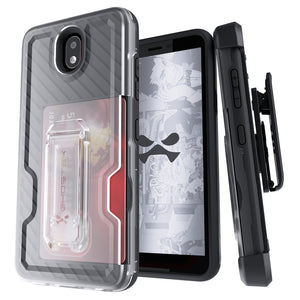 LG X2 (2019) / Escape Plus Case | Belt Clip Holster & Built-In Kickstand IRON ARMOR 3 Case | UVIYO CASES , LG X2 (2019) Cases , GHOSTEK - UVIYO