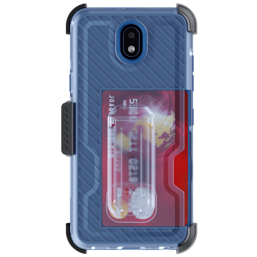 LG X2 (2019) / Escape Plus Case | Belt Clip Holster & Built-In Kickstand IRON ARMOR 3 Case | UVIYO CASES