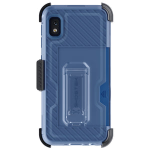 Galaxy A10e Case | Belt Clip Holster & Built-In Kickstand IRON ARMOR 3 Case | UVIYO CASES
