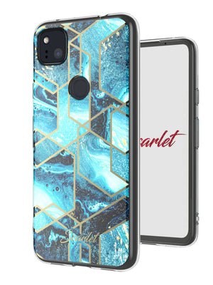 Google Pixel 4a Case | Scarlet WAVES | UVIYO CASES