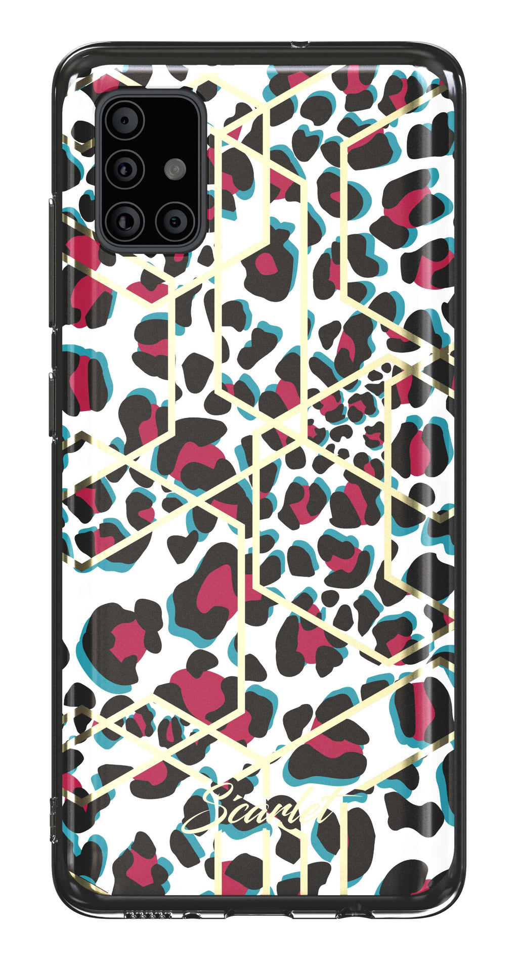Galaxy A51 Case | Scarlet LEOPARD | UVIYO CASES
