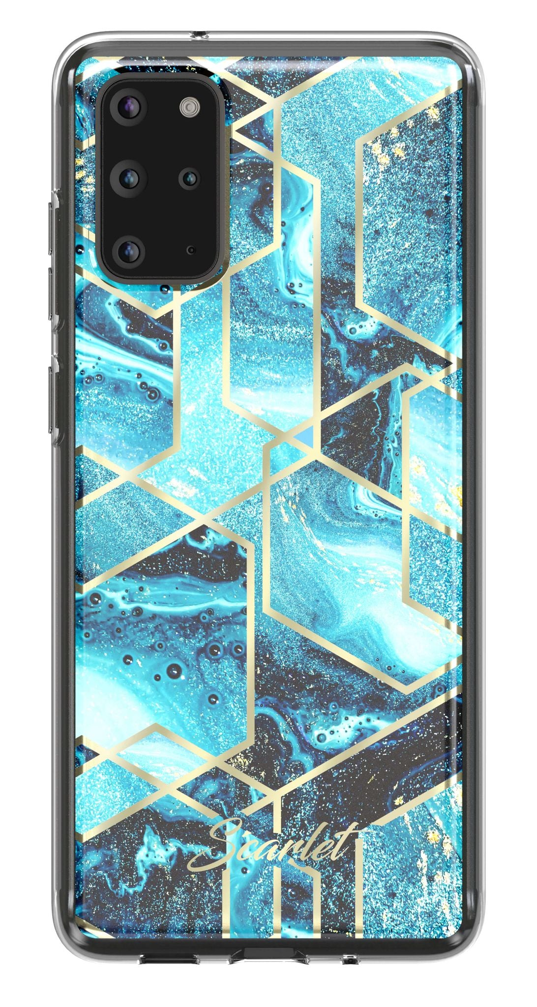 Galaxy S20 Plus Case | Scarlet WAVES | UVIYO CASES
