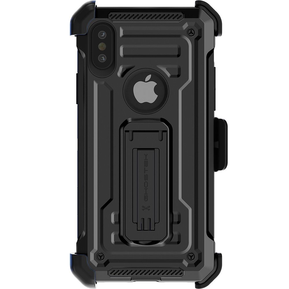 iPhone XS Case | Belt Clip Holster & Built-In Kickstand IRON ARMOR 2 Case | UVIYO CASES , iPhone XS Cases , GHOSTEK - UVIYO