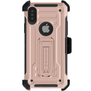 iPhone X Case | Belt Clip Holster & Built-In Kickstand IRON ARMOR 2 Case | UVIYO CASES , iPhone X Cases , GHOSTEK - UVIYO