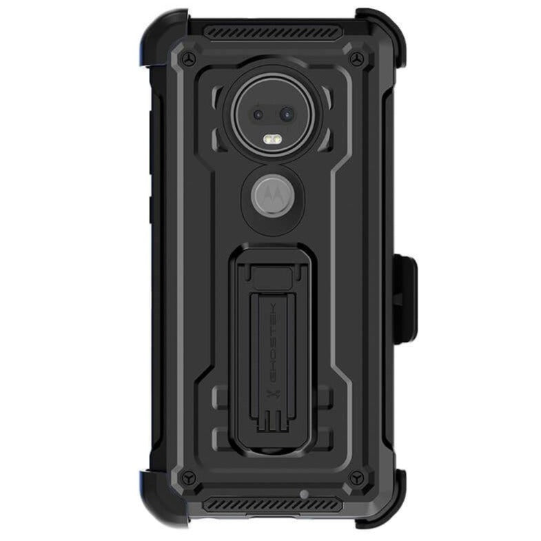 Moto G7 / Moto G7 Plus Case | Belt Clip Holster & Built-In Kickstand IRON ARMOR 2 Case | UVIYO CASES , Moto G7 Cases , GHOSTEK - UVIYO
