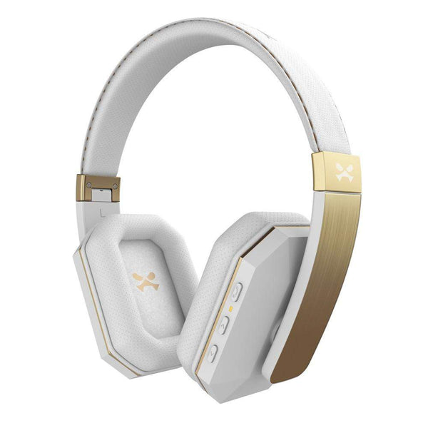 Wireless Headphones | Ghostek SoDROP 2 | aptX Bluetooth | HD Sound | UVIYO - White & Gold - HEADPHONES - uViyo - 1