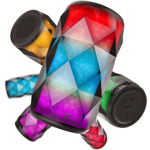 Ghostek Vivid Speaker | Multicolor LED Bluetooth Speaker , BLUETOOTH SPEAKERS , GHOSTEK - UVIYO