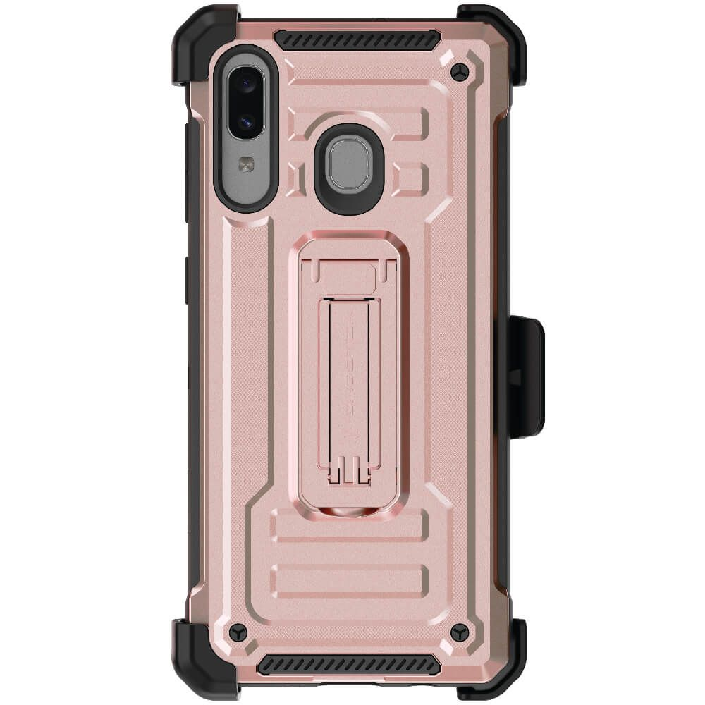 Galaxy A20 / A30 / A50 / A30s / A50s Case | Belt Clip Holster & Built-In Kickstand IRON ARMOR 2 Case | UVIYO CASES , Galaxy A50 Cases , GHOSTEK - UVIYO