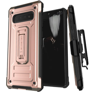 Galaxy S10 Plus Case | Belt Clip Holster & Built-In Kickstand IRON ARMOR 2 Case | UVIYO CASES , Galaxy S10 PLUS Cases , GHOSTEK - UVIYO