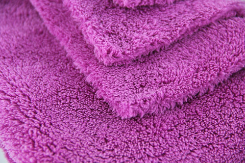 Edgeless Microfiber Towel 600gsm Purple