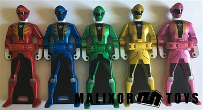 Gokaiger Metallic Key Set