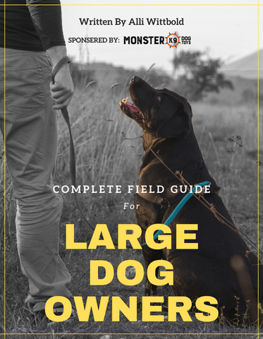 COMPLETE FIELD GUIDE FOR LARGE DOG OWNERS [EBOOK]