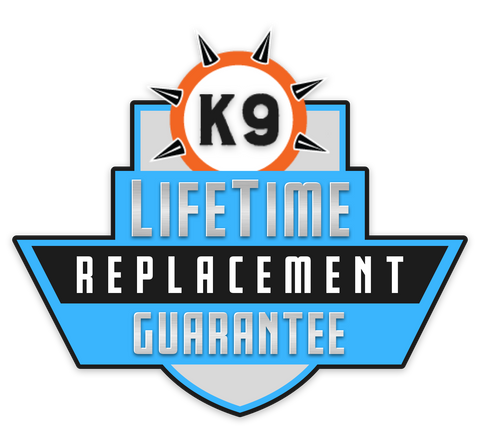 Monster K9 Dog Toys Lifetime Replacement Guarantee