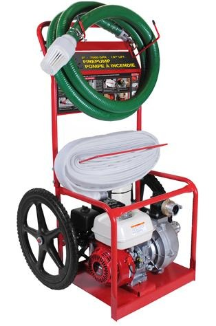 "BE 2"" Wildland Series Fire Fighting Cart - Clean Quip"