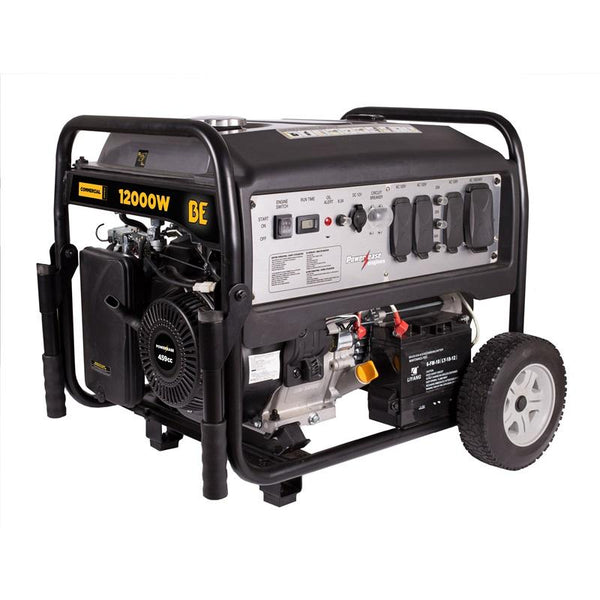 BE 12000 Watt Commercial Series Powerease Generator - Clean Quip