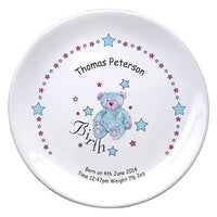 Teddy & Stars Blue Birth 8