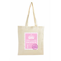 1st Class Personalised Cotton Bag