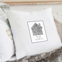 1805 - 1874 Old Series Map Home Personalised Cushion Cover