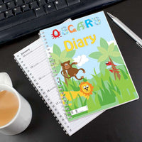 Animal A5 Personalised Diary