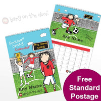 Football Crazy Personalised Calendar
