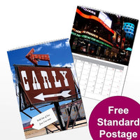 All American Personalised Calendar