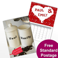 Couples Personalised Calendar