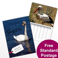Birds Personalised Calendar