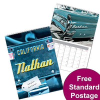 Car Personalised Calendar