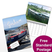 Boats Personalised Calendar