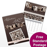 Affection Art Personalised Calendar