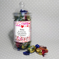 Lots of Loves Personalised Toffee Jar