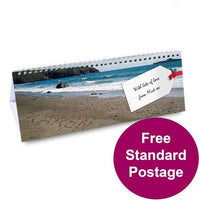 Coast Personalised Desk Calendar