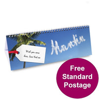 Holiday Personalised Desk Calendar