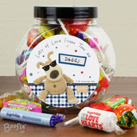 Boofle Stars Personalised Sweet Jar