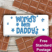 Patterns World's Best Personalised Milk Chocolate Bar