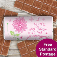 Id Pick You Personalised Milk Chocolate Bar