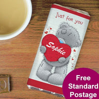 Me to You Big Heart Personalised Milk Chocolate Bar