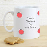 Dotty About You Personalised Mug