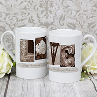 Affection Art Love Personalised Slim Mug