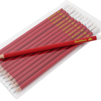 Alien Motif Personalised Red Pencils