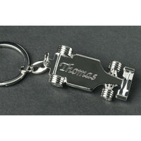 Racing Car Personalised Keyring