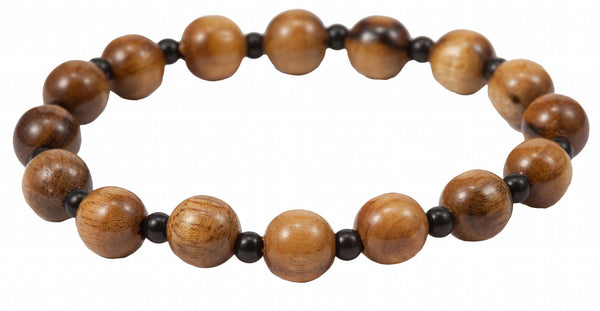 Wood Bead Bracelet 2 Sizes