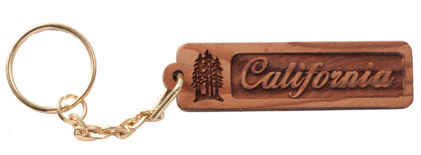 California Keychain or Magnet